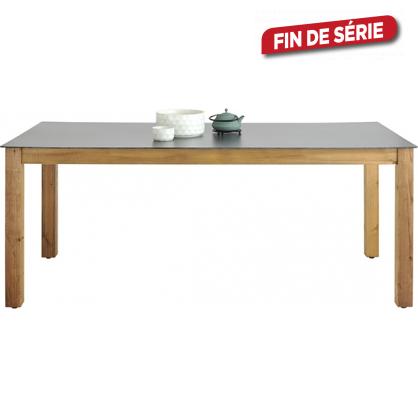 Table de jardin neli 209 x 80 x 75 cm - Table de jardin metal mr bricolage ...