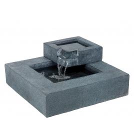 Fontaine carrée 2 niveaux