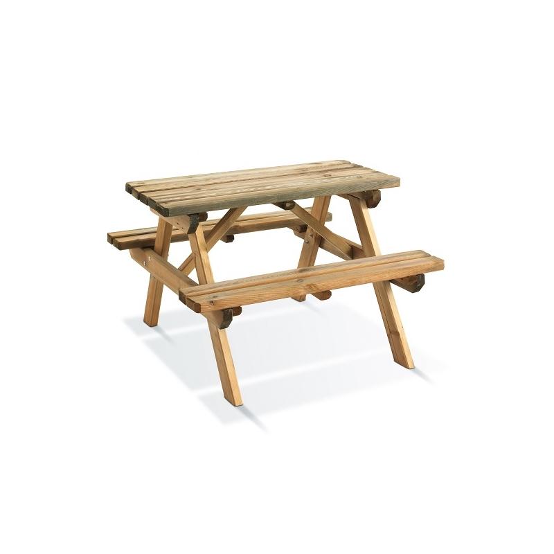 table pique nique pour enfants 90 x 90 cm. Black Bedroom Furniture Sets. Home Design Ideas