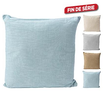 Coussin 100% coton 45 x 45 cm