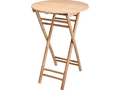 Table de jardin haute pliante - Mr.Bricolage