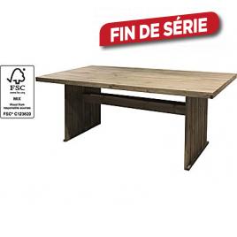 Table de jardin en bois softwood 160 x 81 x 75 cm