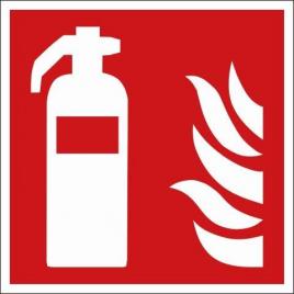 Pictogramme incendie adhésif