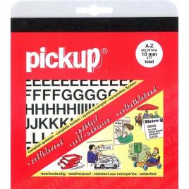 Pochette de lettres Helvetica adhésives