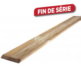 Planche en bois douglas biseauté 240 x 14,5 x 2,7 cm SOLID