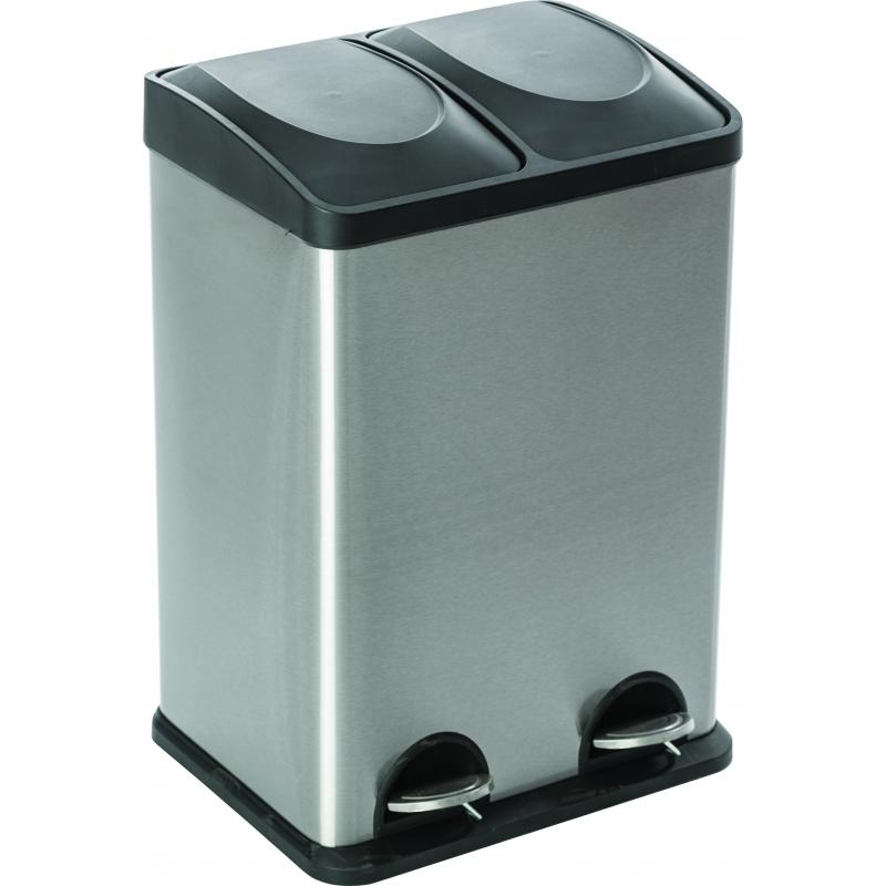 poubelle p dale rectangulaire 40 l casibel. Black Bedroom Furniture Sets. Home Design Ideas