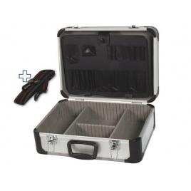 Valise en aluminium 46 x 33 x 16,5 cm PEREL