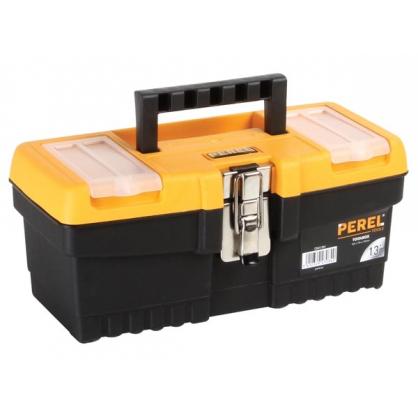 Boîte à outils avec fermeture métallique 32 x 15,5 x 13,9 cm PEREL
