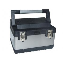 Boîte à outils en acier 38 x 27 x 22,5 cm PEREL