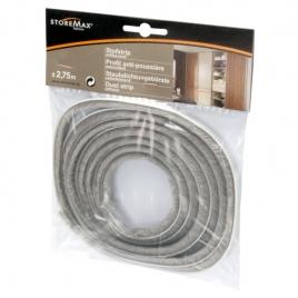 Profil anti-poussière gris 2,75m STOREMAX