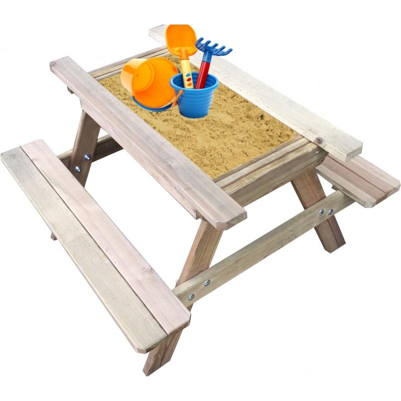 Table De Pique Nique Avec Bac à Sable Solid Mrbricolage