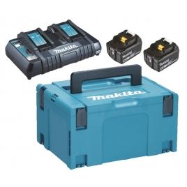 Power Pack 2 batteries 18 V 5 Ah avec chargeur MAKITA