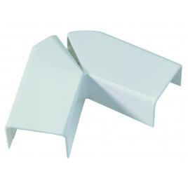 DLP angle plat 12,5 mm LEGRAND - Blanc - 20 x 12,5 mm