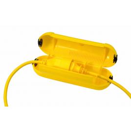 Boîte étanche de sécurité pour fiche Safebox jaune PROFILE
