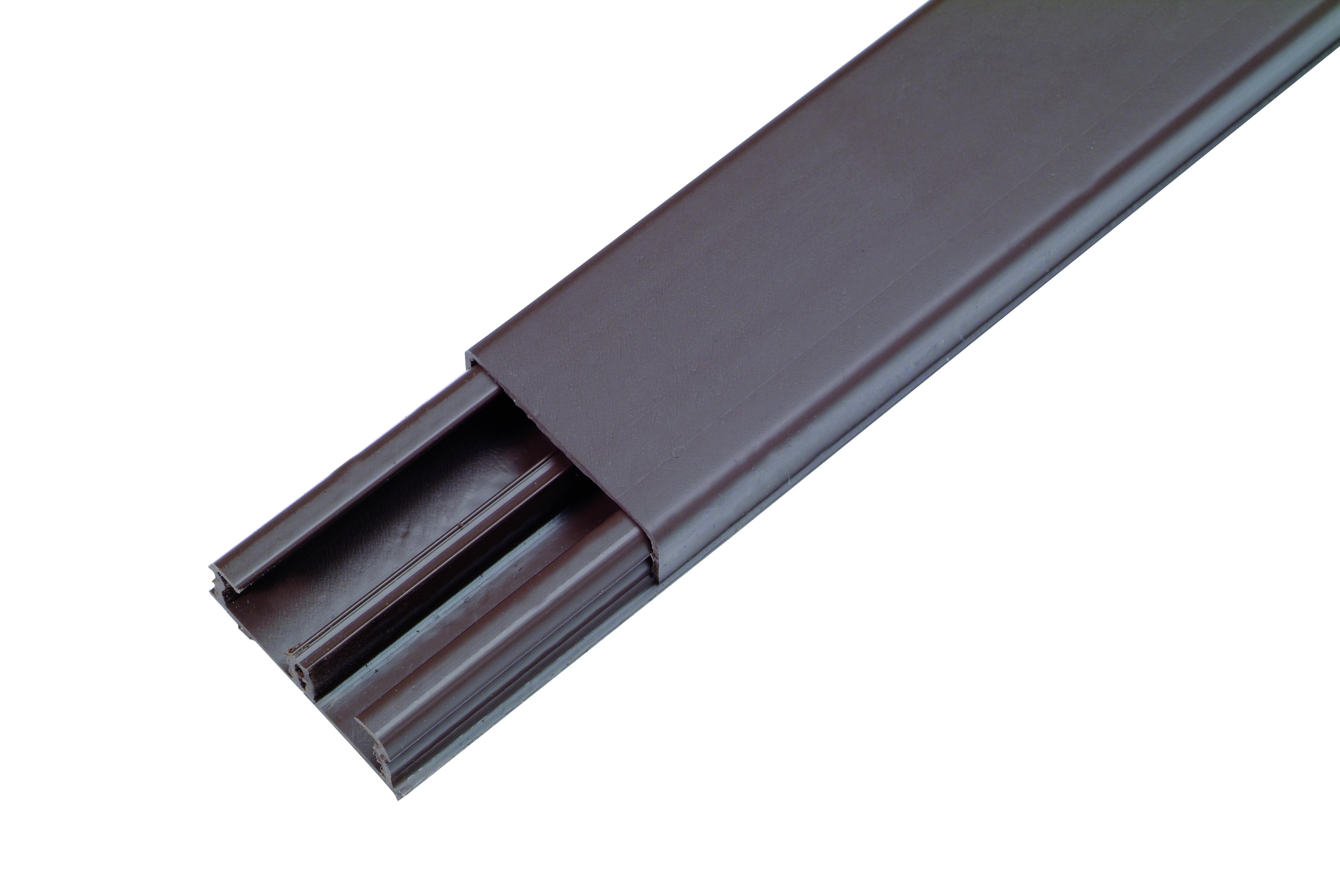 Goulotte Pour Plafond goulotte dlp 12,5 x 32 mm brun legrand - mr.bricolage