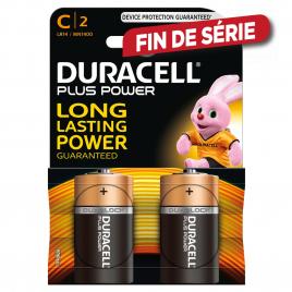 Pile alcaline C Plus Power 2 pièces DURACELL