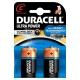Pile alcaline C Ultra Power 2 pièces DURACELL