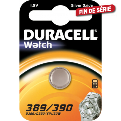 Pile bouton 389/390 DURACELL