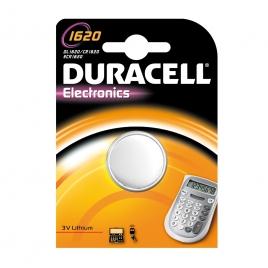 Pile bouton au lithium 1620 DURACELL