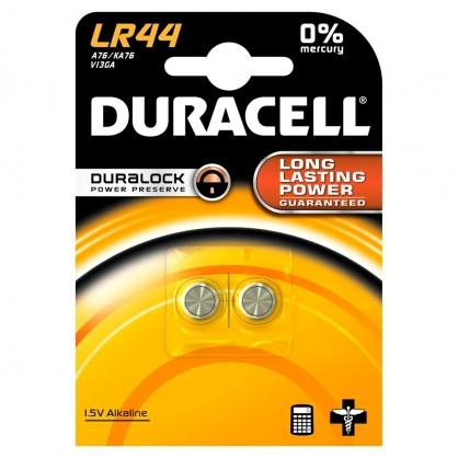 Pile alcaline LR44 2 pièces DURACELL