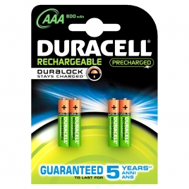 pile rechargeable plus aa 1300mah 4 pi ces duracell. Black Bedroom Furniture Sets. Home Design Ideas
