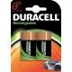 Pile rechargeable Ultra C 2 pièces DURACELL