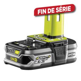 Batterie Li-Ion One+ 2,5 Ah RB18L25 18 V RYOBI