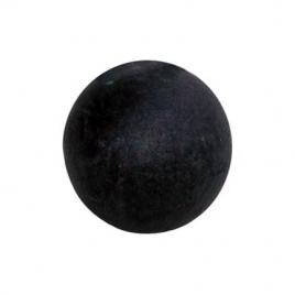 Boule noire en Terrazzo - 17 cm