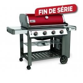 Barbecue au gaz Genesis II Edition Limité Rouge WEBER