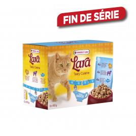 Sachet fraîcheur pour chat 12 pièces - Poulet & dinde, agneau & volaille et saumon & truite