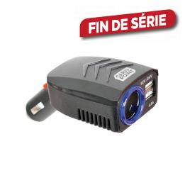 Chargeur USB pour voiture 1 prise 4,8 A CARPOINT