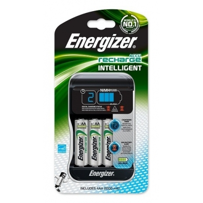 Chargeur intelligent 4 piles AA ENERGIZER