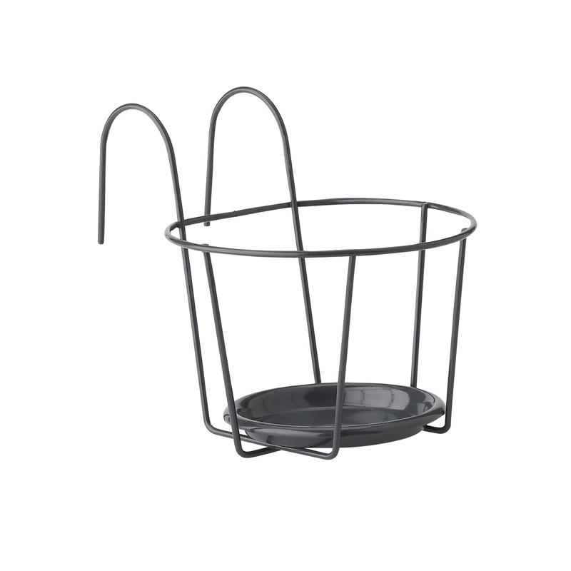 support balcon pour pot de fleurs. Black Bedroom Furniture Sets. Home Design Ideas