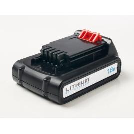 Batterie Li-Ion 1,5 Ah BL1518-XJ 18 V BLACK+DECKER