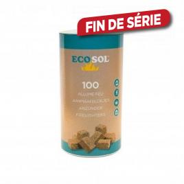 Allume feu Ecosol - 100 pièces