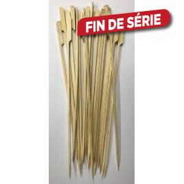 Brochettes en bambou 25 pièces