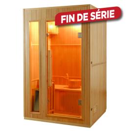 Sauna traditionnel intérieur Zen - 2 personnes