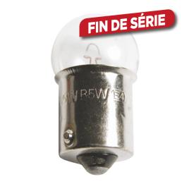 Ampoule à incandescence BA15s 5 W 2 pièces