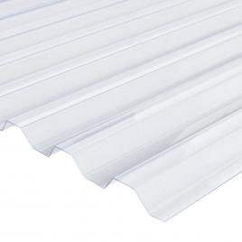 Plaque ondulée Greca 76/18 en PVC 1,15 m