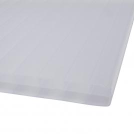 Plaque blanche Sunlite en polycarbonate 1,05 m