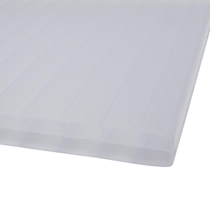 plaque blanche sunlite en polycarbonate 1 05 m. Black Bedroom Furniture Sets. Home Design Ideas