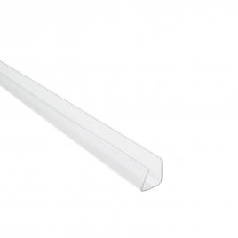 Profil en U pour plaque en polycarbonate - 1,6 cm