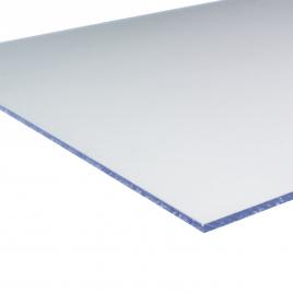 Plaque en polystyrène lisse cristal
