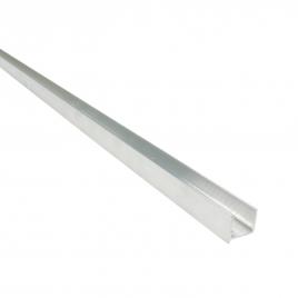 Profilé d'embout pour plaque en polycarbonate - 10 mm