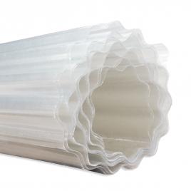 Rouleau polyester 76/18 cristal au mètre