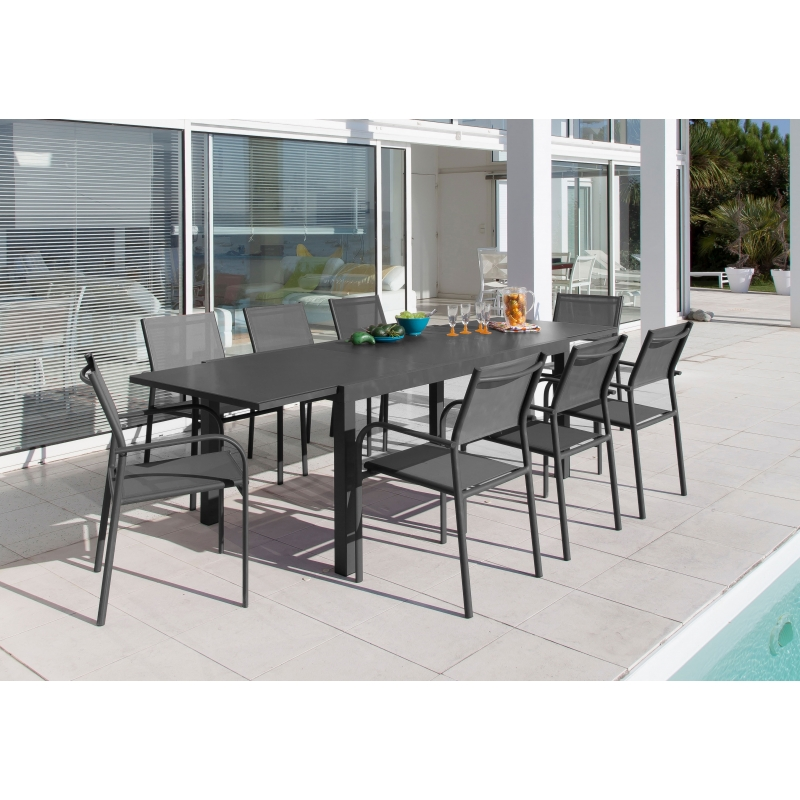 Beautiful table de jardin extensible mr bricolage ideas for Salon de jardin mr bricolage
