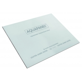 Plaque de plâtre AQUAPANEL® Cement Board Indoor 120 x 90 x 1,25 cm KNAUF