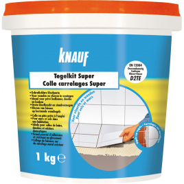 Colle pour carrelage Super KNAUF - 1 kg