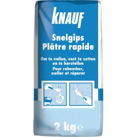 Plâtre à prise rapide KNAUF - 2 kg
