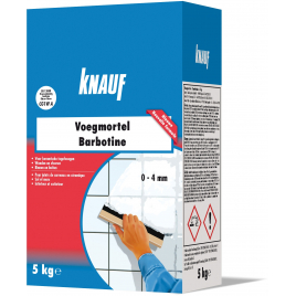 Mortier de jointoiement Barbotine 5 kg KNAUF